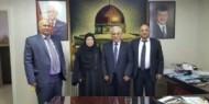 لقاء بين مُؤسسة الخَليج التعليمية وجامعة القُدس المَفتوحة بالمملكة الأردنية الهاشمية