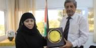عقد لقاء بين مؤسسة الخليج التعليمية و جامعة الاقصي
