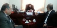 زيارة وفد جامعة الاقصي لمؤسسة الخليج التعليمية