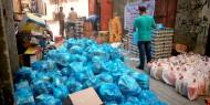 توزيع السلة الغذائية بتبرع كريم من الجمعية الإسلامية في مملكة البحرين
