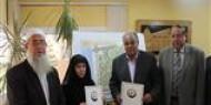 افتتاح مسجد في جامعة الأقصي بخانيونس