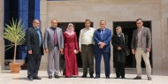 جولة رئيس مجلس الإدارة في جامعة الاسراء بغزة لتفقد مشروع مختبر التشخيص الوراثي للأمراض السرطانية